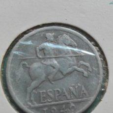 Monedas Franco: 10 CTM ESTADO ESPANOL 1940 EBC CASI SIN CIRCULAR. Lote 121497483