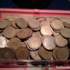 Monedas Franco: LOTE 50 MONEDAS DE 1 PESETA FRANCO 1966 VARIAS ESTRELLAS . Lote 121536743