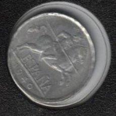 Monedas Franco: 5 CENTIMOS 1940 ESTADO ESPAÑOL (FRANCO) SC MUY ESCASA EN ESTA CALIDAD. Lote 122031779