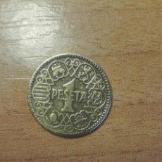 Monedas Franco: 1 PESETA DE 1944. Lote 122105135