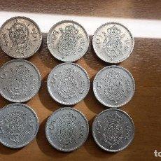 Monedas Franco: LOTE MONEDAS 5 PESETAS. Lote 122216943