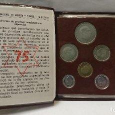 Monedas Franco: CARTERA PRUEBAS NUMANISTICAS ESPAÑOLAS 75. Lote 122479543