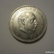 Monedas Franco: MONEDA DE 5 PESETAS DE FRANCO DE 1949*49. Lote 122489075