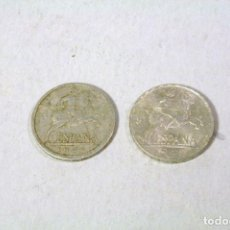 Monedas Franco: 2 MONEDAS DE 5 CENTIMOS 1940 Y 1945. Lote 123456819