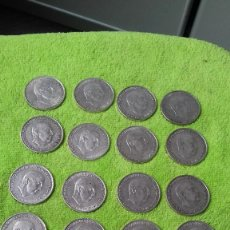 Monedas Franco: LOTE 20 MONEDAS DE PLATA - 100 PESETAS FRANCO ( VARIAS FECHAS EN MUY BUEN ESTADO ). Lote 124268171