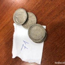 Monedas Franco: MONEDAS DE 50 PESETAS DE 1957(*58,*59,*60,*69,*71). Lote 125027663