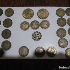 Monedas Franco: 27 MONEDAS DE FRANCO--2 DE 2,50-- 1 DE 1 PTS 1944--3 DE 1 PTS DE 1953- Y 21 DE 1 PTAS 1963. Lote 125185371