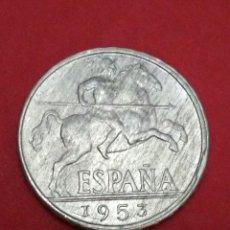 Monedas Franco: ESTADO ESPAÑOL. MONEDA DE 10 CENTIMOS. 1953. SC.. Lote 125237666