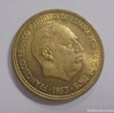 Monedas Franco: MONEDA. FRANCISCO FRANCO. 2.50 PESETAS. 1953. ESTRELLA 54. S/C. VER. Lote 125637779