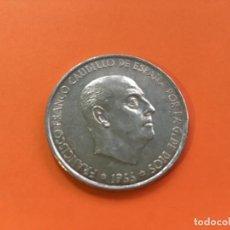 Monedas Franco: MONEDA PLATA ESPAÑA 1966 *67 FRANCO - 100 PESETAS S/C. Lote 126200479
