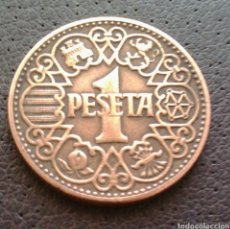 Monedas Franco: 1 PESETA 1944. Lote 120626371