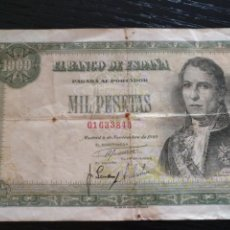Monedas Franco: BILLETE DE 1000 PTS 1949. Lote 126379222