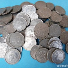 Monedas Franco: LOTE DE 70 MONEDAS DE 50 PESETAS FRANCO 1957 , ORIGINALES . Lote 128792675