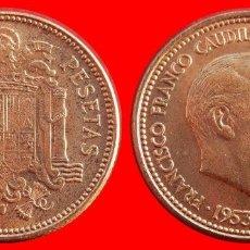 Monedas Franco: ESPAÑA 2,50 PESETAS FRANCO 1953-54 SIN CIRCULAR ESPAÑA SC. Lote 128975939
