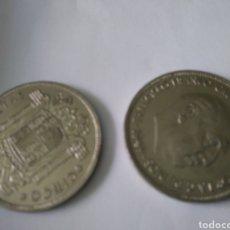 Monedas Franco: LOTE 2 DUROS CABEZONES FORMATO GRANDE. Lote 129369794