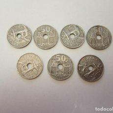 Monedas Franco - Monedas de 50 céntimos periodo franquista - 130835476