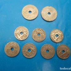 Monedas Franco - Monedas de 25 y 50 céntimos período franquista - 130836308