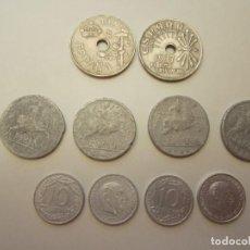 Monedas Franco - Monedas de 25 y 10 céntimos período franquista - 130837304