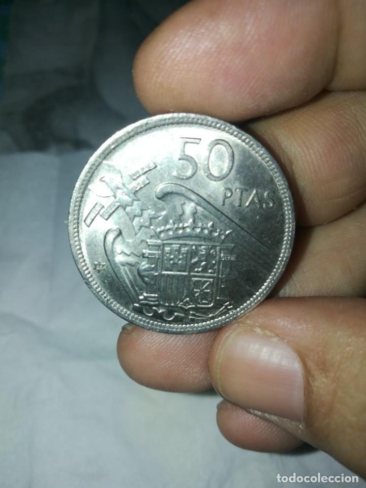 Monedas Franco: Moneda de 50 pts de franco.año 1957 estrella 68 prueba - Foto 9 - 84378400