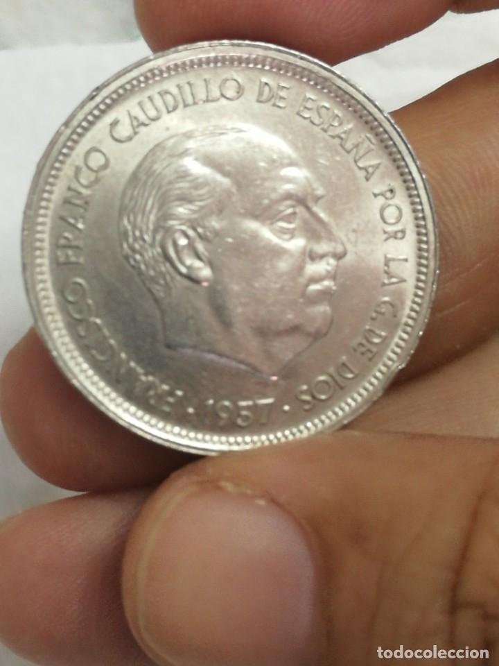 Monedas Franco: Moneda de 50 pts de franco.año 1957 estrella 68 prueba - Foto 20 - 84378400