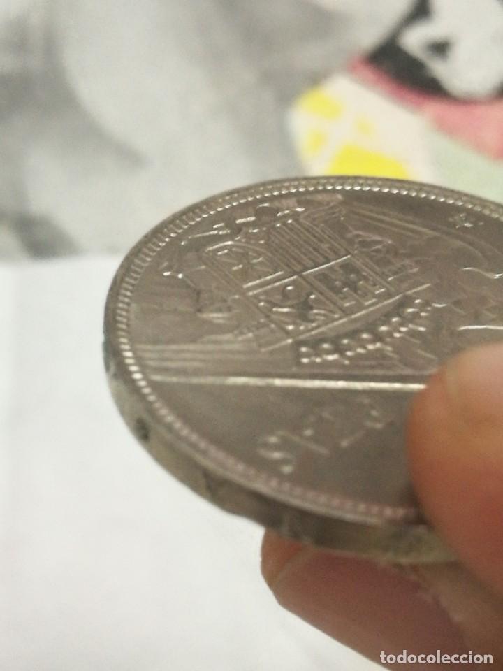Monedas Franco: Moneda de 50 pts de franco.año 1957 estrella 68 prueba - Foto 23 - 84378400