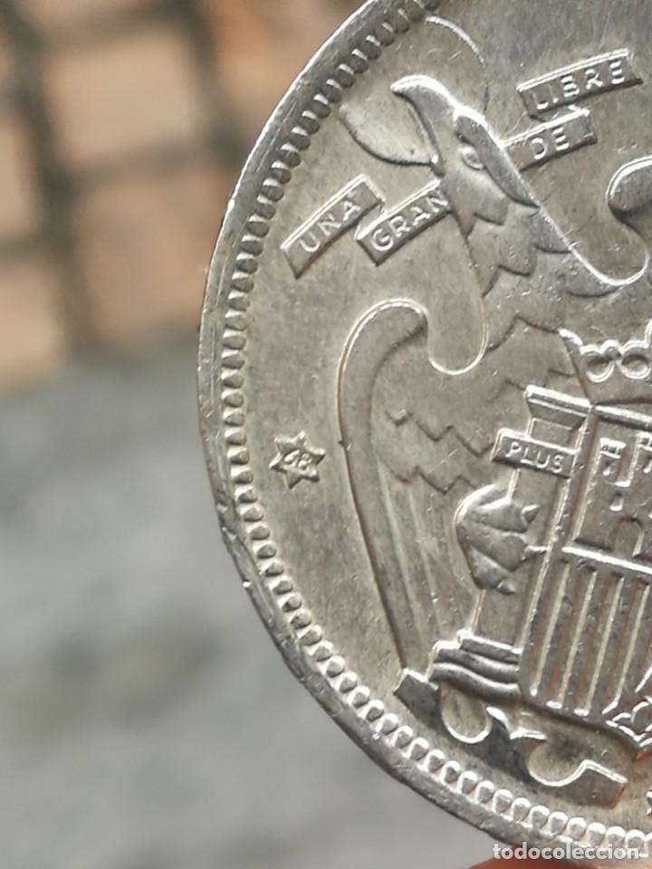 Monedas Franco: Moneda de 50 pts de franco.año 1957 estrella 68 prueba - Foto 25 - 84378400