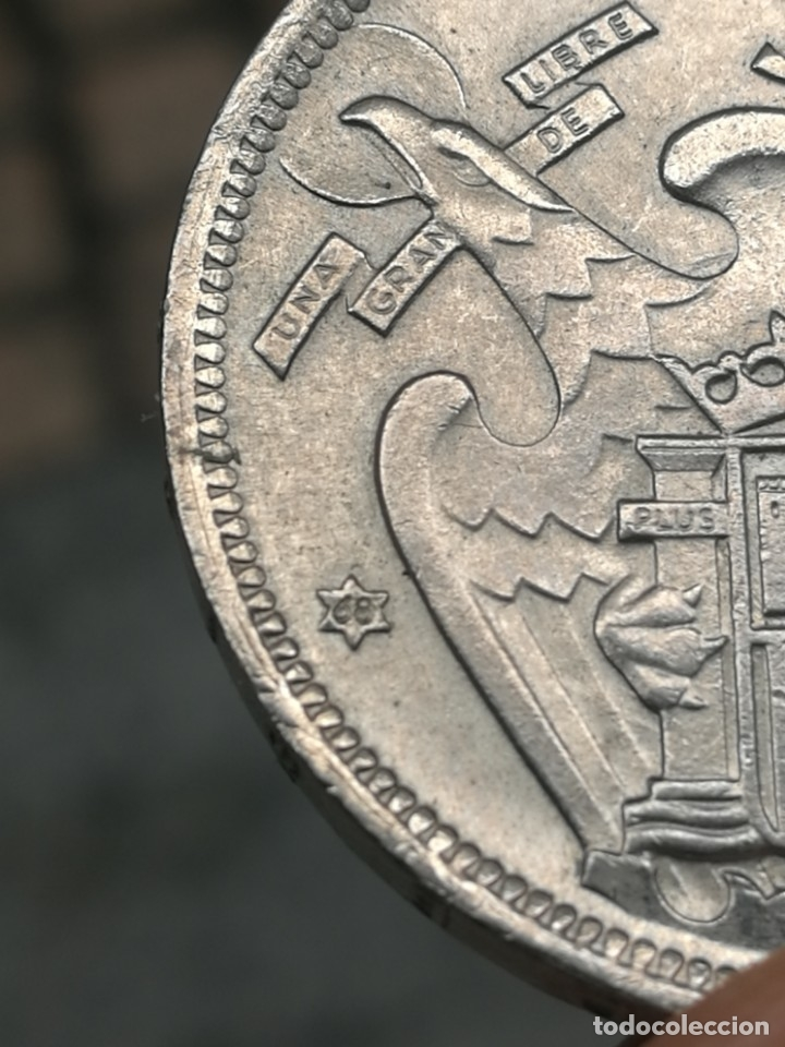 Monedas Franco: Moneda de 50 pts de franco.año 1957 estrella 68 prueba - Foto 26 - 84378400