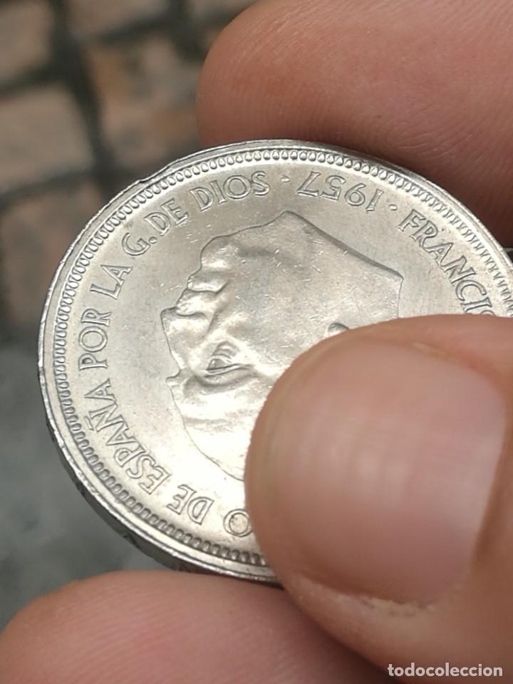 Monedas Franco: Moneda de 50 pts de franco.año 1957 estrella 68 prueba - Foto 31 - 84378400