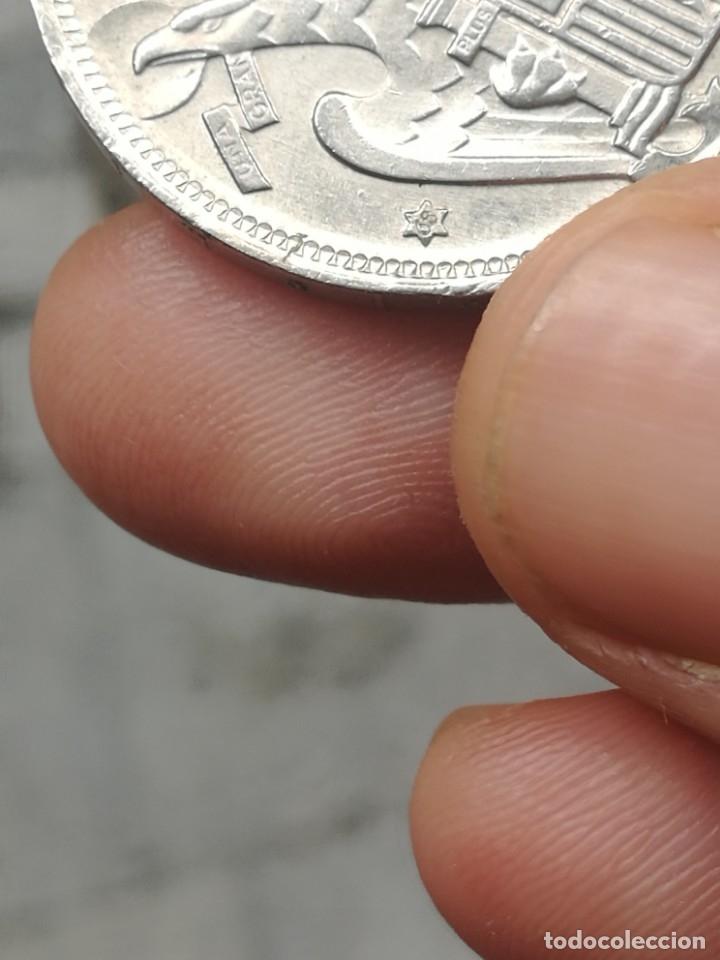 Monedas Franco: Moneda de 50 pts de franco.año 1957 estrella 68 prueba - Foto 36 - 84378400