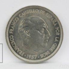 Monedas Franco: MONEDA ESTADO ESPAÑOL - 50 PESETAS 1957 *BA - BARCELONA - CONSERVACIÓN EBC. Lote 131233230