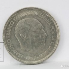 Monedas Franco: MONEDA ESTADO ESPAÑOL - 5 PESETAS 1957 *68 / NIQUEL - CONSERVACIÓN EBC. Lote 178751766