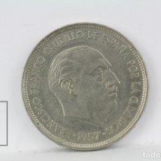 Monedas Franco: MONEDA ESTADO ESPAÑOL - 25 PESETAS 1957 *72 / NIQUEL - CONSERVACIÓN MBC. Lote 178751750
