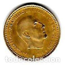Monedas Franco: UNA PESETA DE FRANCO 1966 ESTRELLA 71 Nº622. Lote 132676842