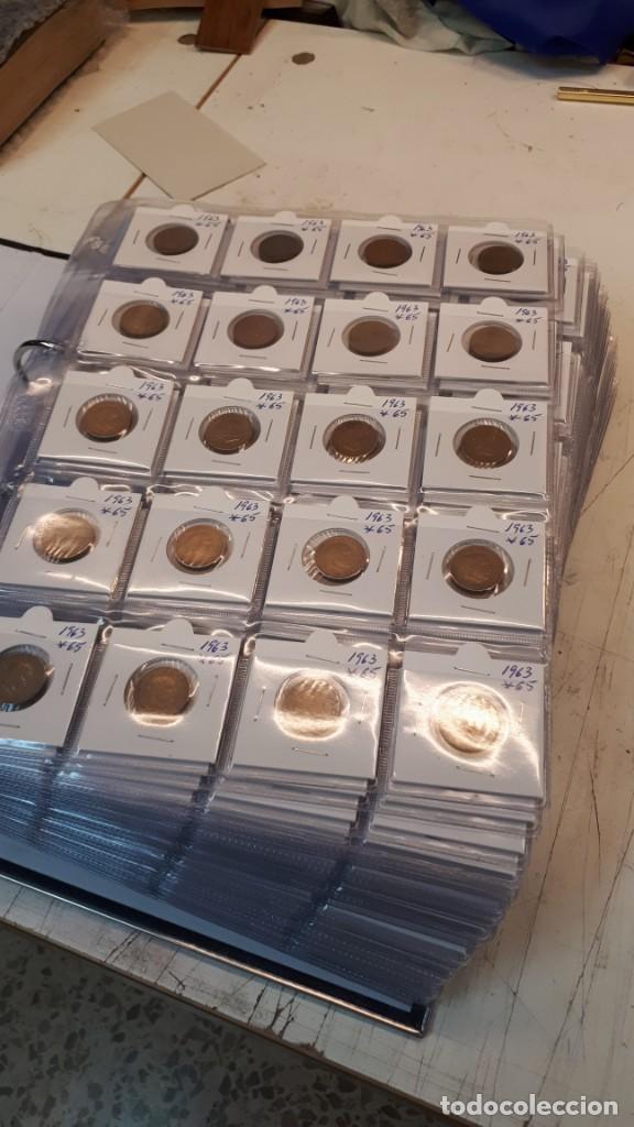 Monedas Franco: Pesetas Franco 1963 a 1966. 660 monedas - Foto 5 - 132678618