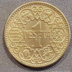 Monedas Franco: ESTADO ESPAÑOL - FRANCISCO FRANCO - 1 PESETA AÑO 1944- SIN CIRCULAR. Lote 132698870