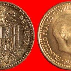 Monedas Franco: 1 PESETA FRANCO 1953-63 SC ESPAÑA. Lote 133862667
