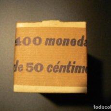Monedas Franco: FRANCO. CAJA DE LA FNMT DE 400 MONEDAS DE 50 CÉNTIMOS. ESTRELLA 71. S/C.. Lote 143568186