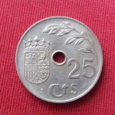 Monedas Franco: ESTADO ESPAÑOL. 25 CÉNTIMOS. 1937 GUERRA CIVIL.. Lote 132966257