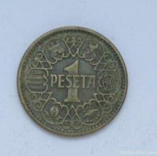 Monedas Franco: ¡¡¡ 1 PESETA DEL ESTADO ESPAÑOL DE 1944 MBC !!!. Lote 133049526