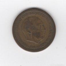 Monedas Franco: 1947 FRANCO 1 PESETA *19 *53 MONEDA CIRCULADA INTERESANTE!!. Lote 133452718