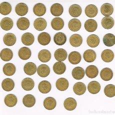 Monedas Franco: 120 MONEDAS DE PESETAS, VARIAS CANTIDADES SEGÚN RELACIÓN.. Lote 133821142