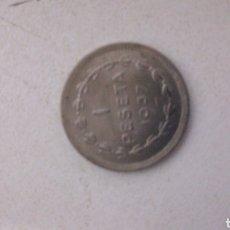 Monedas Franco: MONEDA 1 PTS. 1937.GOBIERNO DE EUZKADI. Lote 134103097