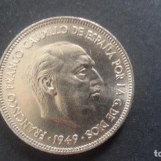 Monedas Franco: MONEDA DE 5 PTS DE FRANCO DE 1949. Lote 134323158