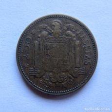 Monedas Franco: MONEDA DE 2,50 PESETAS DEL AÑO 1953, FRANCO.. Lote 134806230