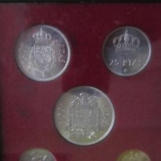 Monedas Franco: ESTUCHE MONEDAS ESPAÑA.. Lote 134851214