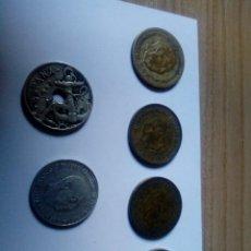Monedas Franco: LOTAZO DE MONEDAS DE FRANCO. Lote 134937018