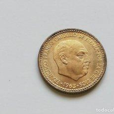 Monedas Franco: ## 1 PESETA 1963 - 63 EBC + ##. Lote 134948774