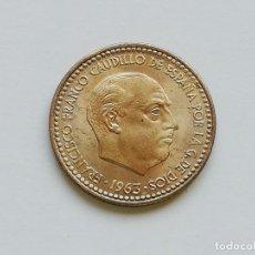 Monedas Franco: ## 1 PESETA 1963 -63 EBC ##. Lote 134949714