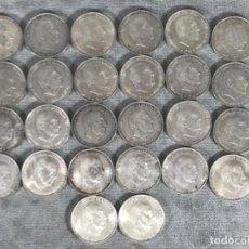 Monedas Franco: LOTE X 26 MONEDAS 100 PESETAS DE FRANCO - 1966 - PLATA 492,8 GR. Lote 135212690