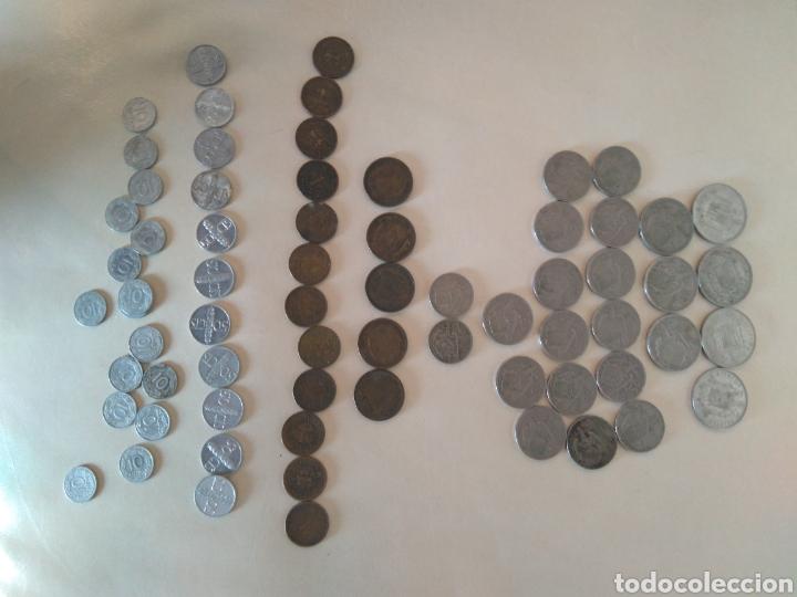 LOTE DE MONEDAS ÉPOCA FRANQUISTA (Numismática - España Modernas y Contemporáneas - Estado Español)